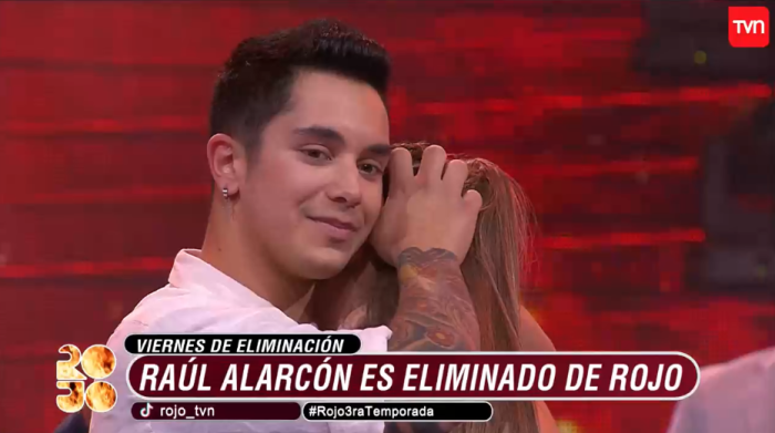 TVN Rojo el color del talento Raúl Alarcón Ana Josefa López