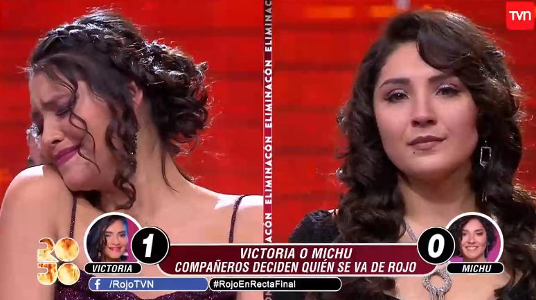 TVN Rojo el color del talento Amaia Montero