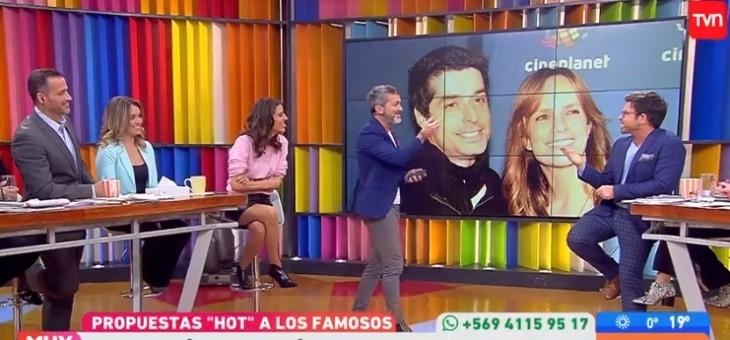 Fail de Cristián Sánchez en matinal de TVN