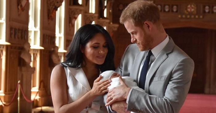 La tradición que siguieron Meghan y príncipe Harry al presentar a su hijo