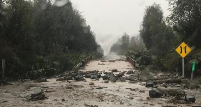 Región de Los Lagos precipitaciones