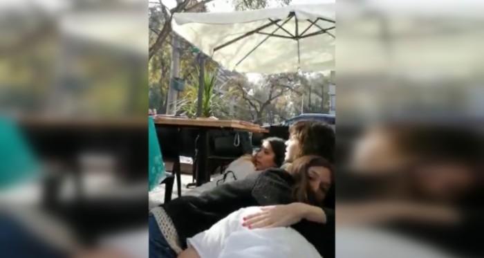 Video de disparo en café de providencia