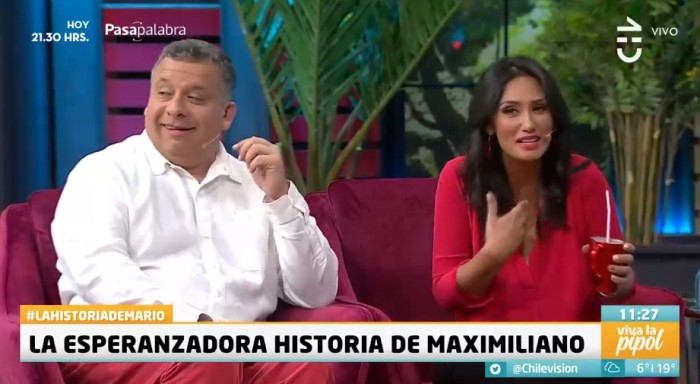 Broma de Pamela Díaz a Don Francisco