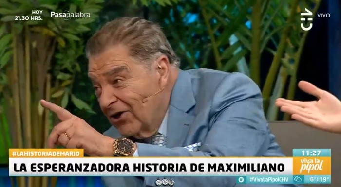Broma de Pamela Díaz a Don Francisco