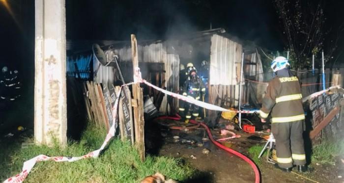 Niño murió en incendio en Concepción