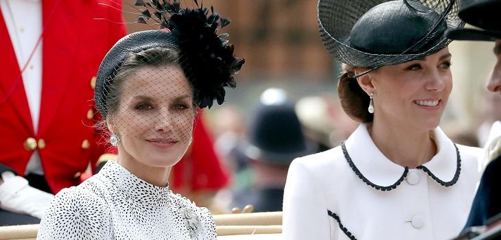 kate middleton no hizo reverencia a reina Letizia