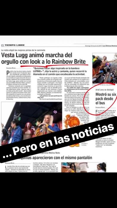 La molestia de Camila Recabarren ante cobertura de Marcha del Orgullo