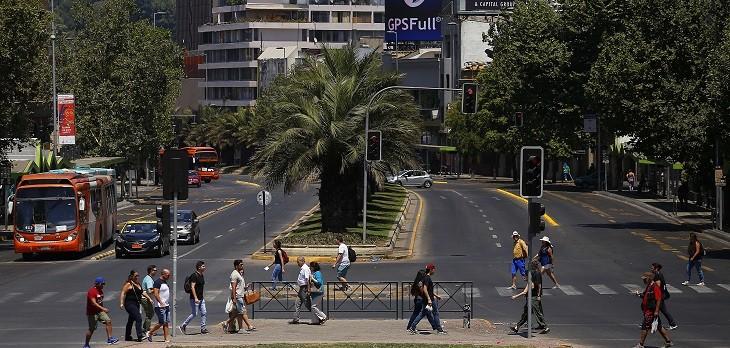 chile es el país más pacífico de la región