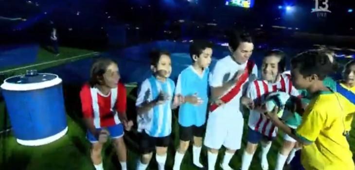 Parecía de Paraguay: error en camiseta de Chile durante inauguración de Copa América