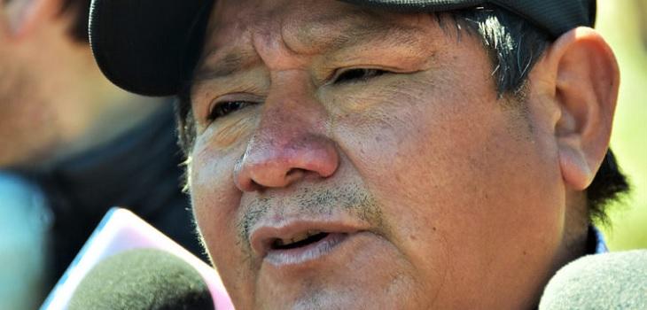 Padre de Camilo Catrillanca detenido por chocar