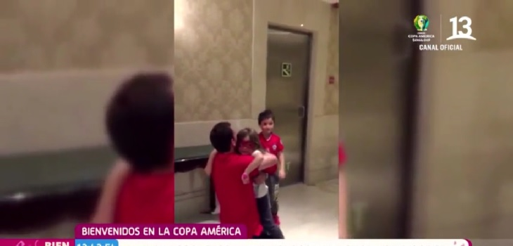 Tierna sorpresa a 'Chapita': su mujer lo sorprende visitándolo en Río de Janeiro