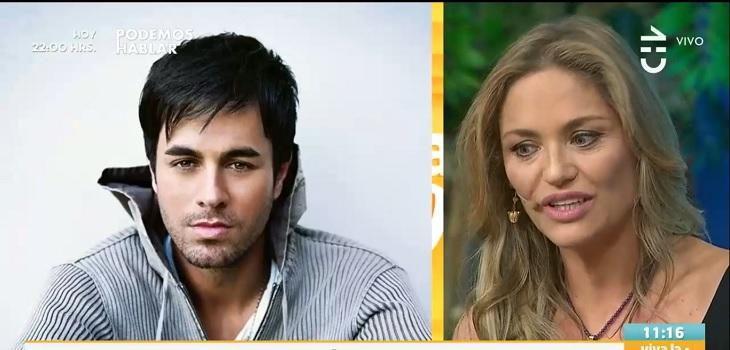 Kenita Larraín confesó amorío con Enrique Iglesias