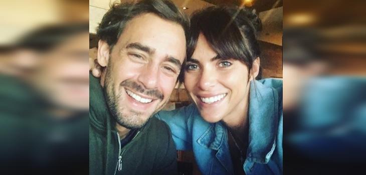 Románticas imágenes de Ariel Levy y Margot Corvalan