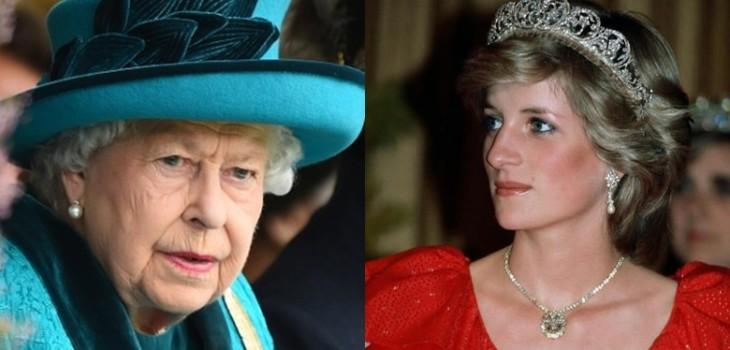Reina Isabel dejó llorando a Diana