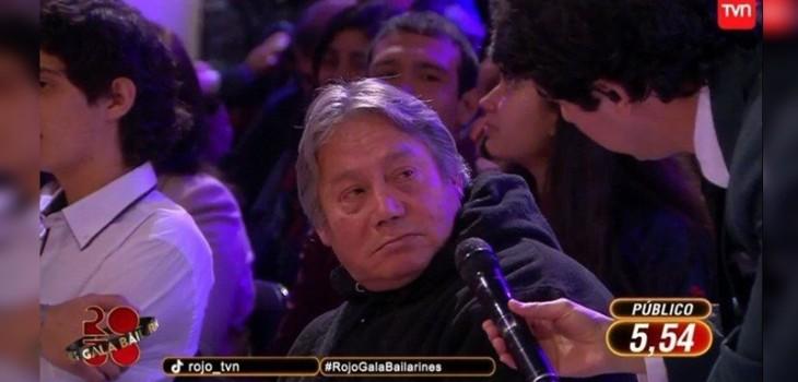 Final Rojo bailarines Roberto Van Cauwelaert y papá de Pía Weidmann