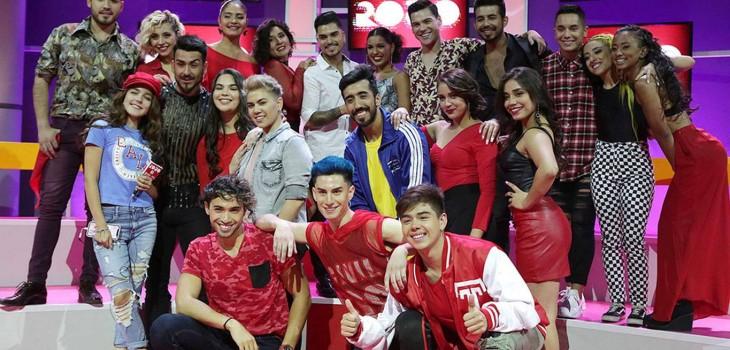 finalistas bailarines rojo