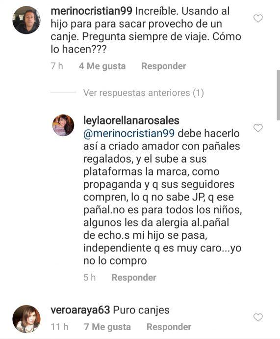 Reacciones Juan Pablo Queraltó