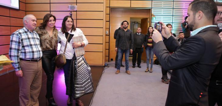 Carmen Gloria dictó charla para celebrar aniversario de su programa