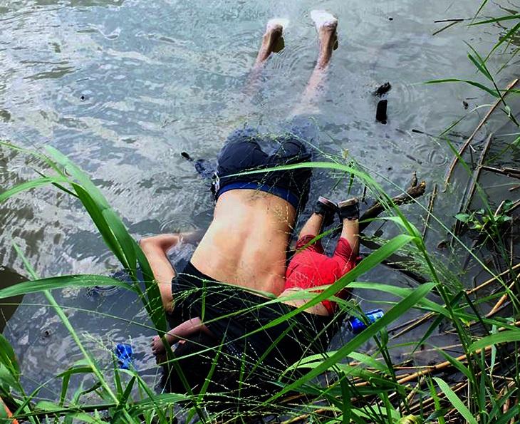 padre e hija mueren ahogados en rio bravo