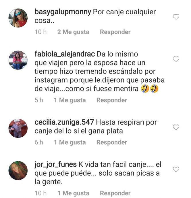 JP Queraltó recibió críticas por canje