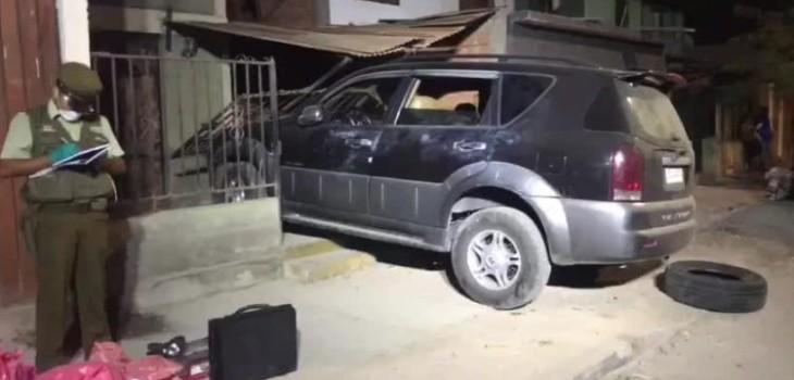 ladrón choca auto y mata a mujer