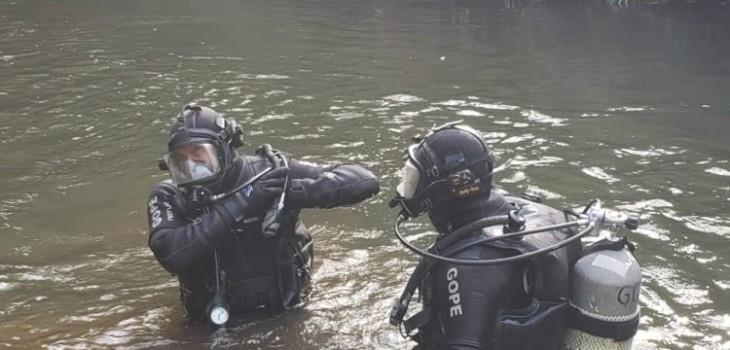 Encuentran cuerpo de mujer a 2,5 metros de profundidad