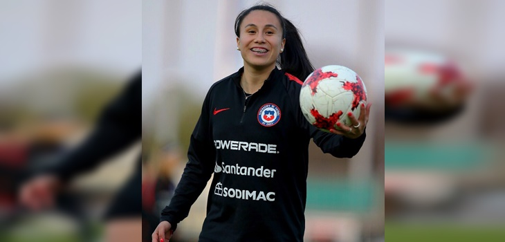 Camila Sáez recibió dura noticia tras jugar por la 'Roja' en el Mundial
