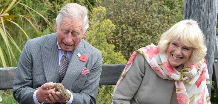 la forma en que Camilla Parker se le insinuó al príncipe Carlos