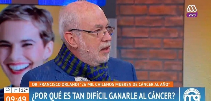 el doctor francisco orlando explico en mucho gusto los melanomas