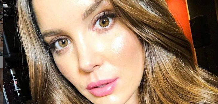Cata Vallejos y su preocupante práctica con lentes de contacto