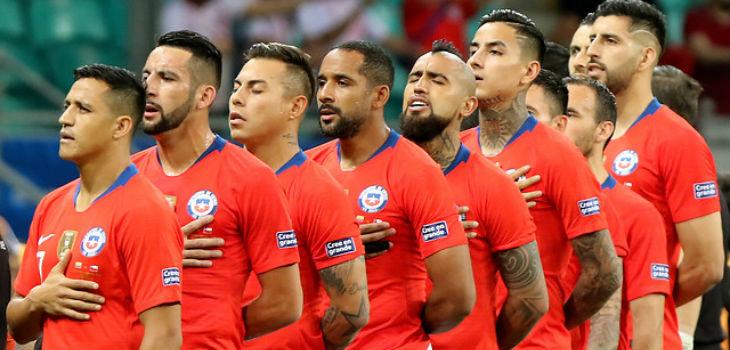 Estos son los rivales de Chile para cuartos de final