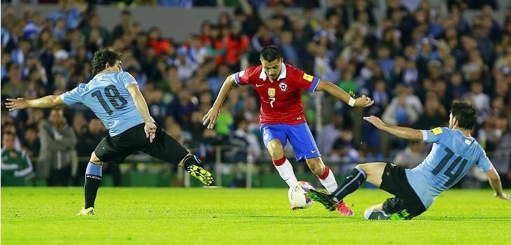 chile enfrenta a uruguay en copa america