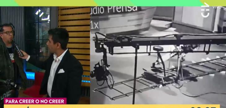 Contigo en la mañana: video de 'cámara fantasma' en estudio de CHV desató debate en el panel