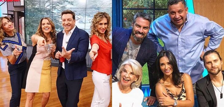 Chilevisión saca cuentas alegres: alcanzó el segundo lugar en el bloque matinal