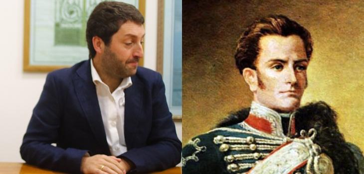 Diputado Coloma es troleado por confundir a José Miguel Carrera con Manuel Rodríguez