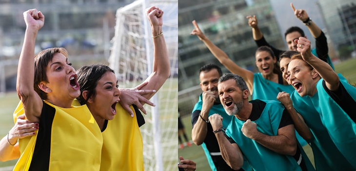 Se vistieron de corto: rostros de Canal 13 y TVN se unieron en notable spot por la Copa América