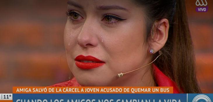 Coté Quintanilla lloró por traición de amiga