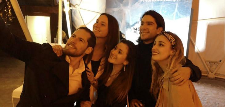 Daniela se encontró con Camila y otros Masterchef