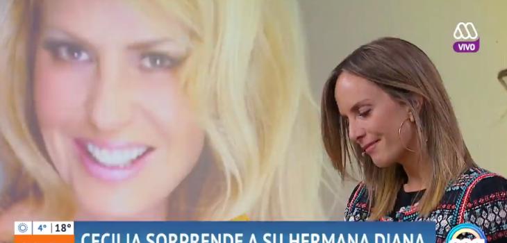 Diana Bolocco recibió emotivo regalo de Cecilia en Mucho Gusto