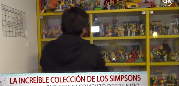 Sergio Freire mostrará en la Comic Con increíble colección de Los Simpson: la ha reunido por 20 años
