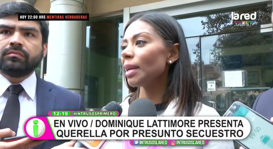 Dominique Lattimore interpone querella contra productores de Doble Tentación por presunto secuestro