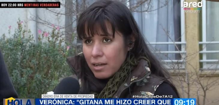 gitana estafó en 18 millones de pesos a mujer de san bernardo