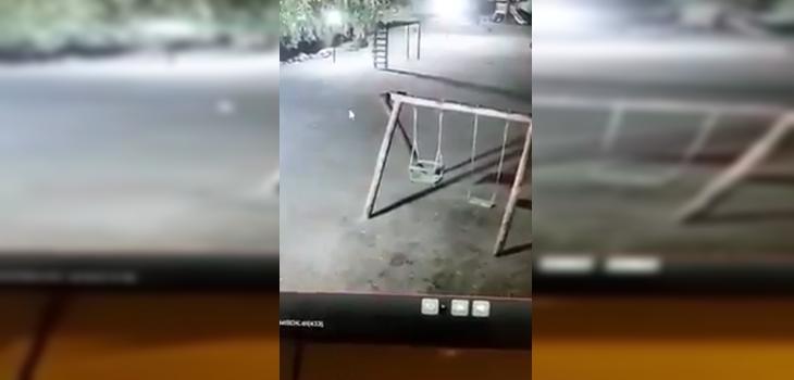 Trabajador relató en 'Bienvenidos' aterrador momento en que vio supuesto fantasma en un columpio