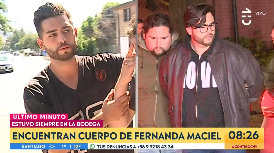 El drástico cambio físico de Felipe Rojas desde desaparición de Fernanda Maciel hasta su detención