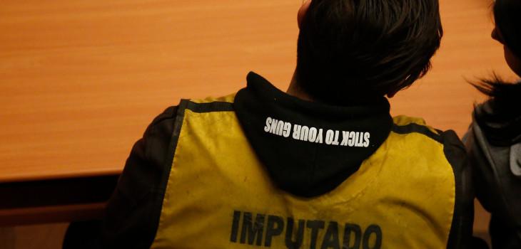 El llamativo polerón de Felipe Rojas
