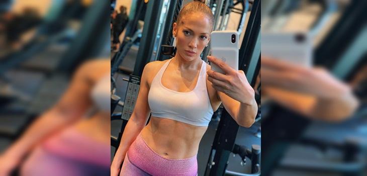 Jennifer Lopez compartió su exigente rutina de ejercicios