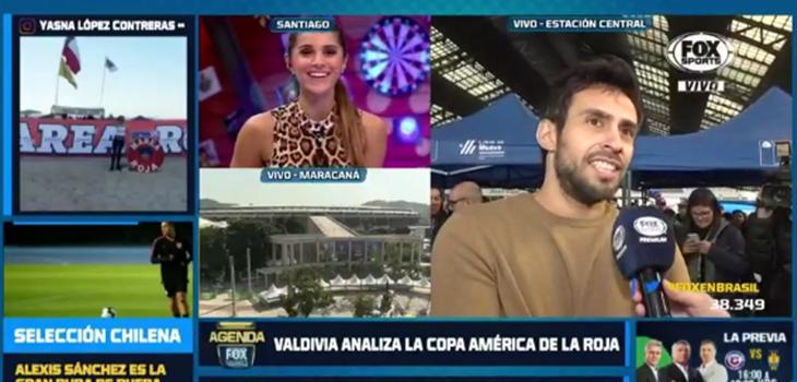 El épico troleo de Jorge Valdivia a periodista de Fox Sports que preguntó por partido de la 'Roja'
