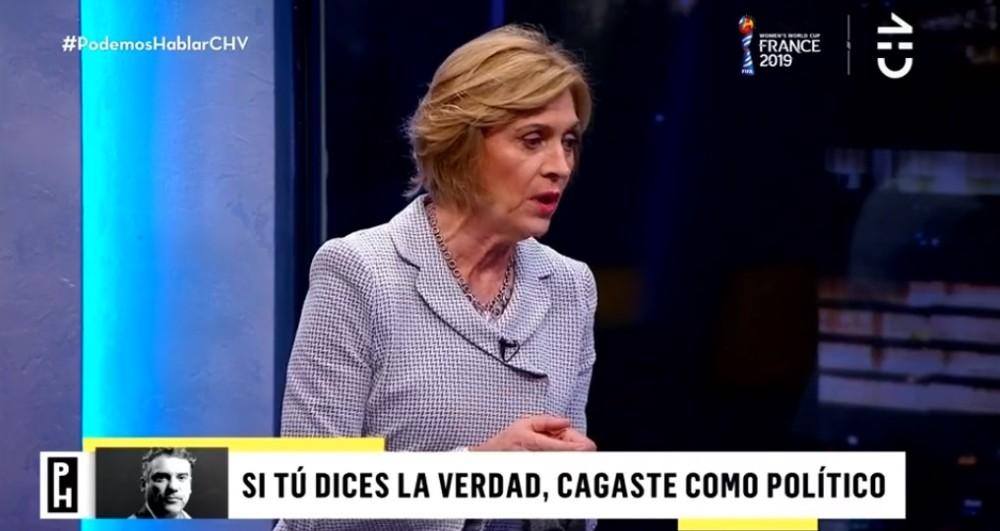 Evelyn Matthei en Podemos hablar