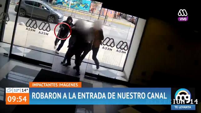 Mucho Gusto mostró violento intento de robo a las puertas del canal