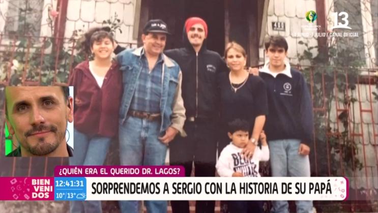 Sergio Lagos emocionado tras sorpresa en Bienvenidos